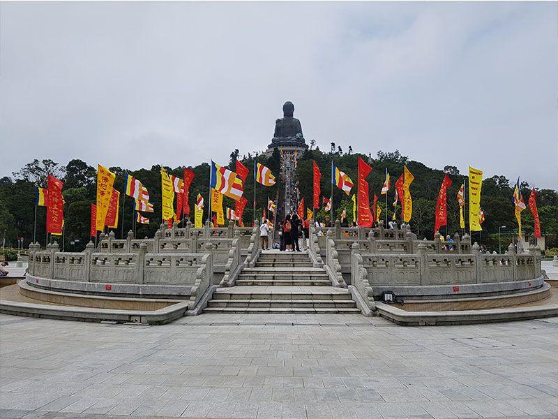 Gran Buda de Lantao de Hong Kong