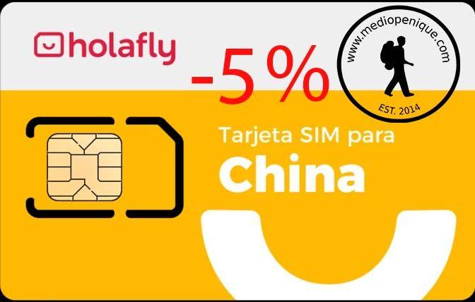 SIM Holafly para China