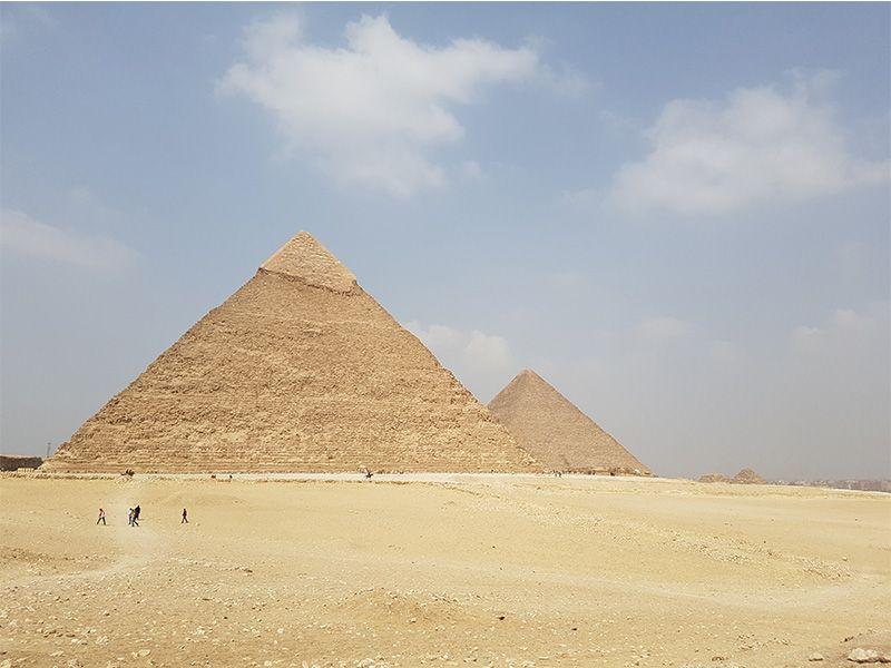 Ir a las pirámides de Guiza desde El Cairo