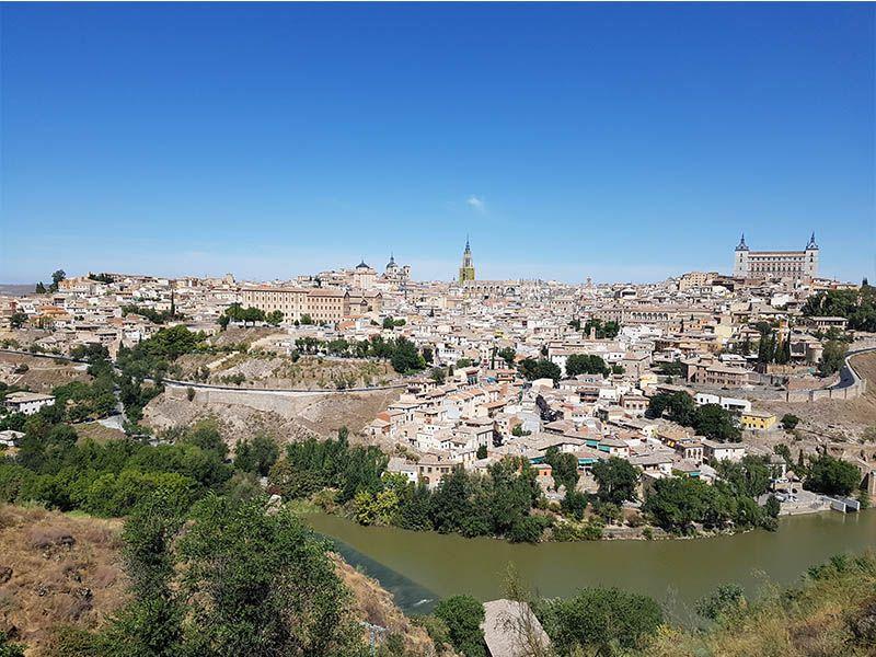 El mirador del Valle de Toledo