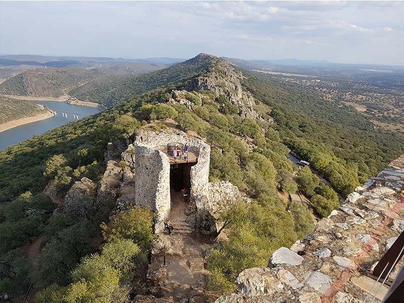 Monfragüe desde lo alto del castillo