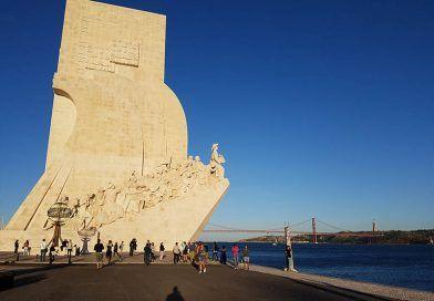 El monumento a los Descubrimientos de Portugal