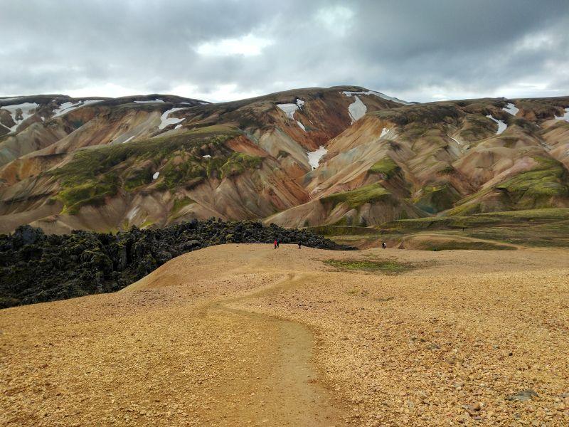 montañas colores landmannalaugar