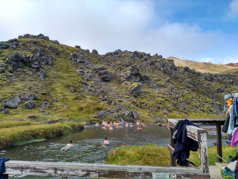 río caliente landmannalaugar