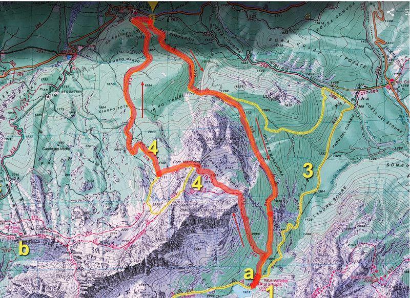 ruta lago sorapis
