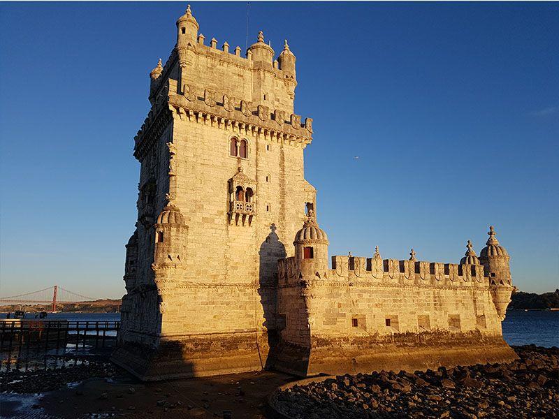 La torre de Belém, un icono de Lisboa