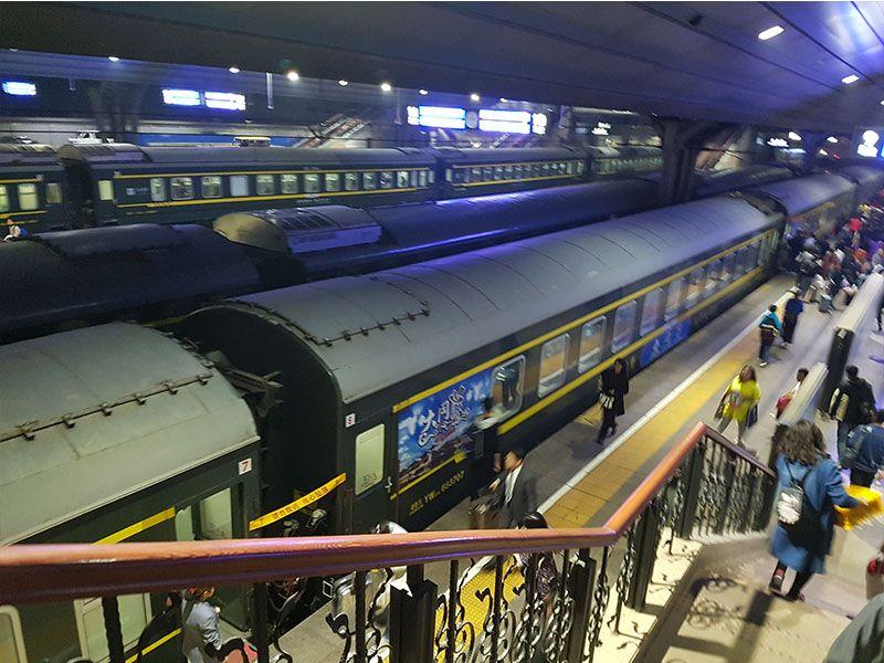 En el presupuesto de viaje a China el transporte es importante