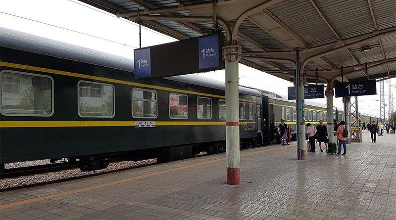 Moverse por China en tren es una buena opción