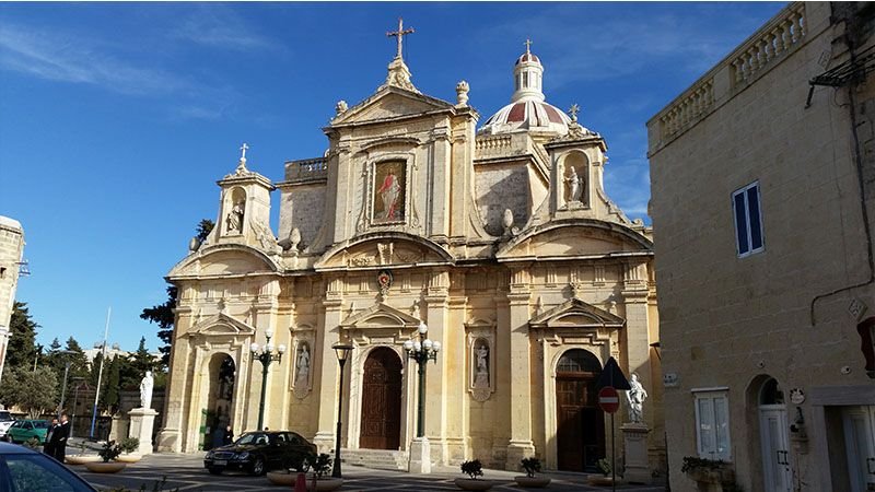 Catedral de San Pablo, en Rabat