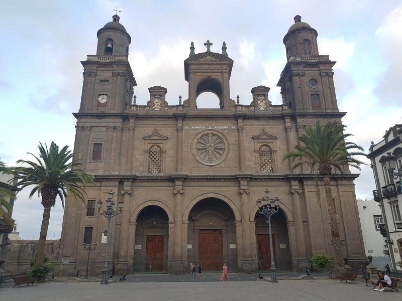catedral santa ana gran canaria
