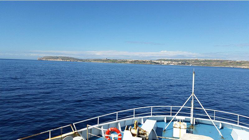 Ferry para ir a la isla de Gozo