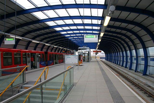 estación dlr london city airport