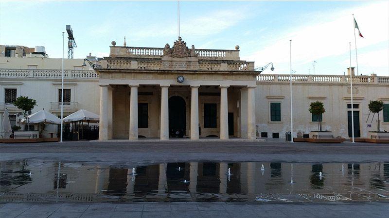 Plaza del Palacio de La Valeta