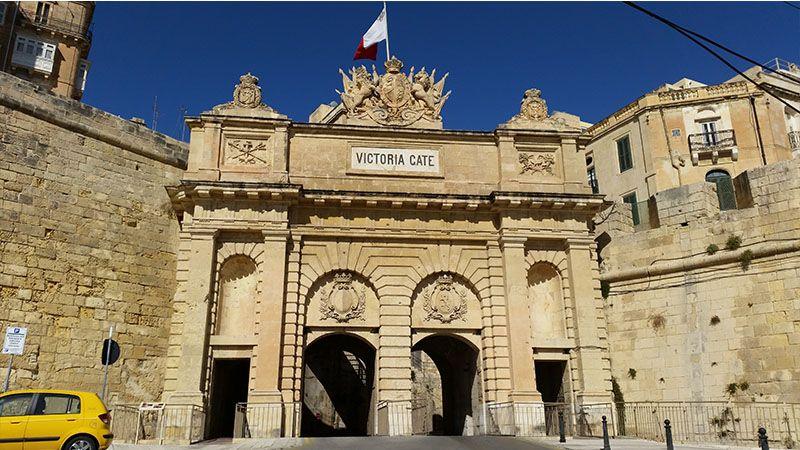 Puerta de Victoria en Malta