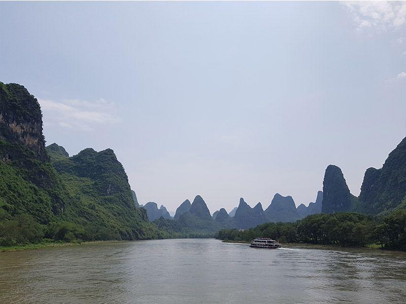 Río Li, cerca de Guilin