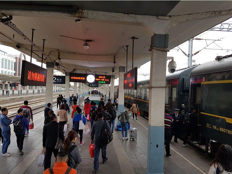 Uno de los mejores consejos para viajar a China es usar el tren