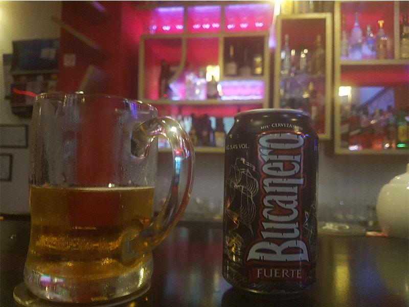 Bucanero, la cerveza local de Cuba