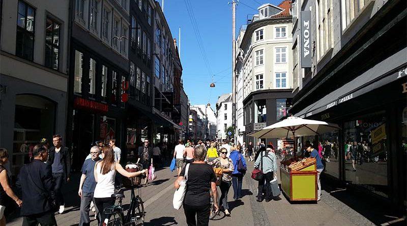 Cambiar dinero en Dinamarca es muy sencillo en el centro de Copenhague