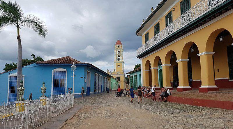 Plaza Mayor de Trinidad, en Cuba