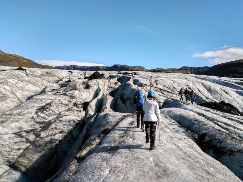 trekking glaciar solheimajokull