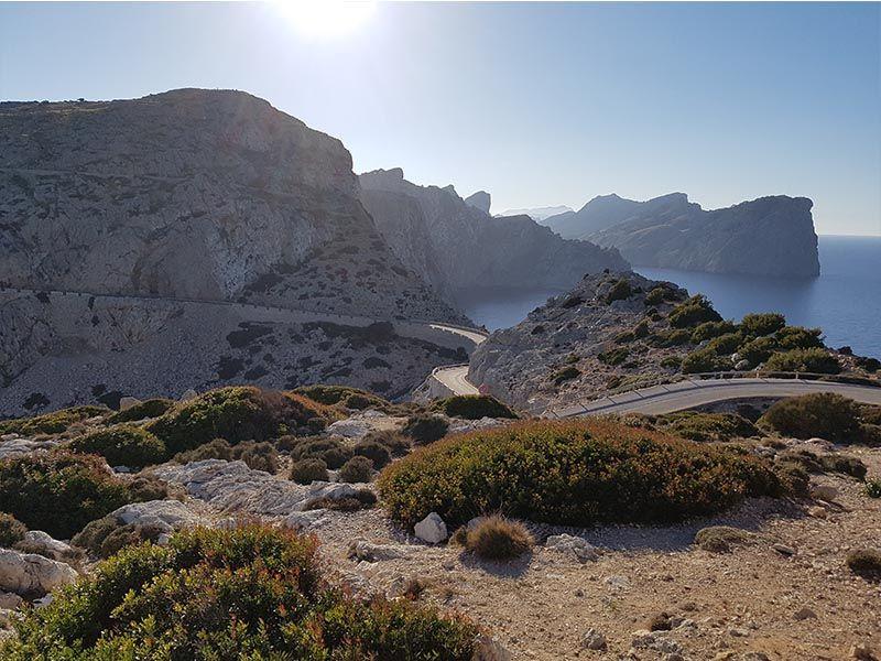 Vistas desde el Cabo Formentor
