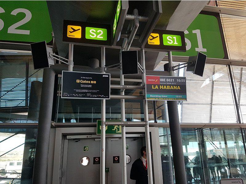 Vuelo de Madrid a La Habana