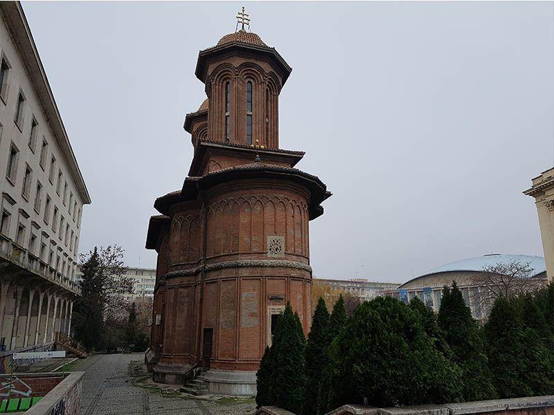 Iglesia de Kretzulescu, en la capital de Rumanía
