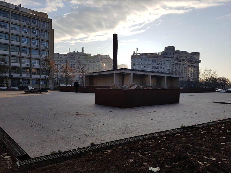 Memorial del Holocausto, en Bucarest
