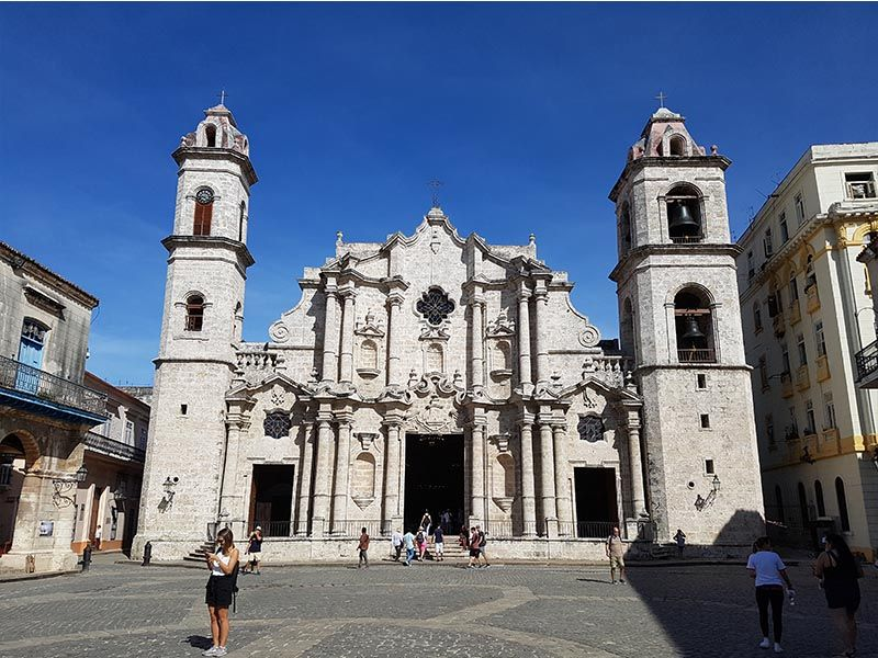 La catedral de La Habana Vieja