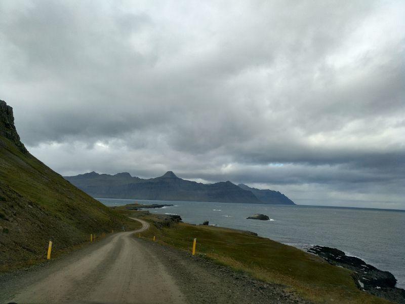 carretera gravilla islandia