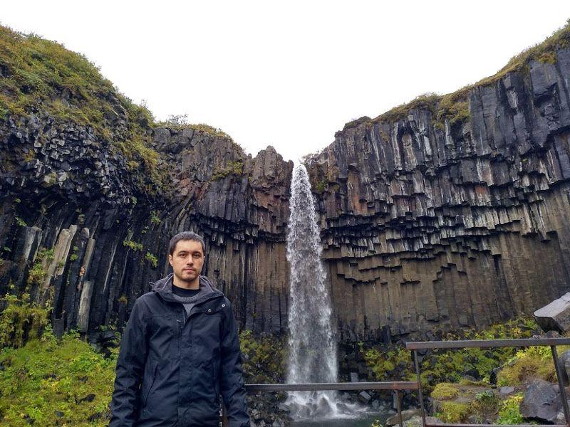 cascada svartifoss islandia