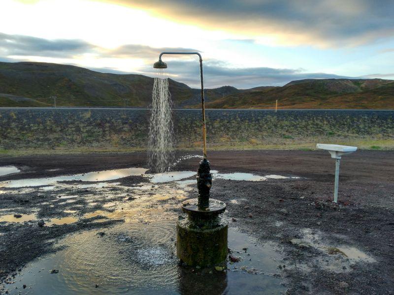 ducha agua caliente infinita krafla islandia