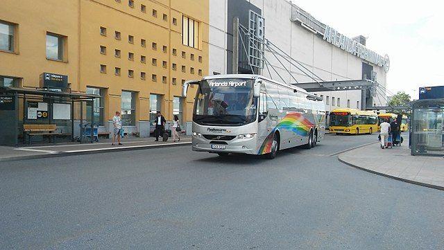 autobus flygbussarna