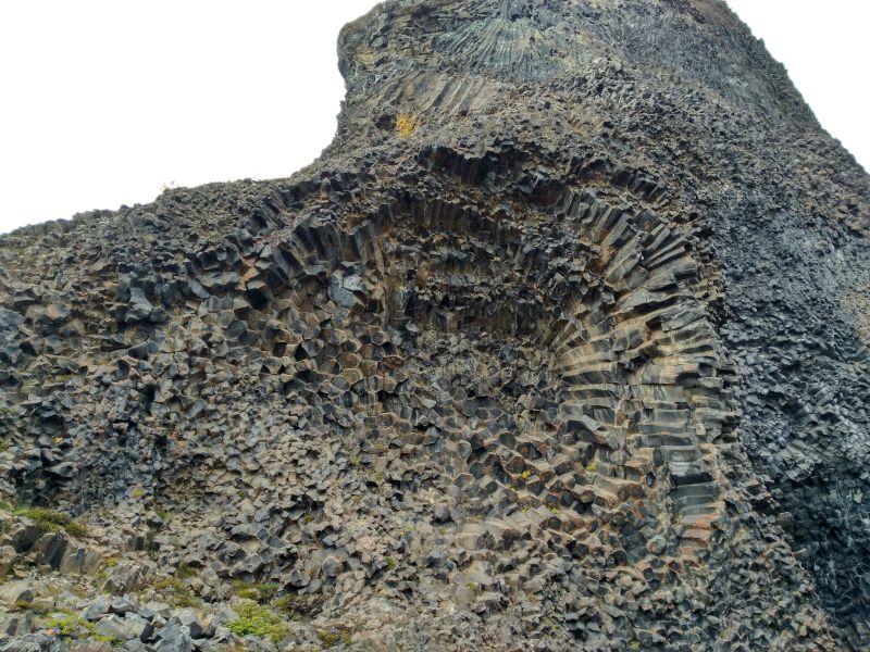 formaciones columnas basalto Hljodaklettar