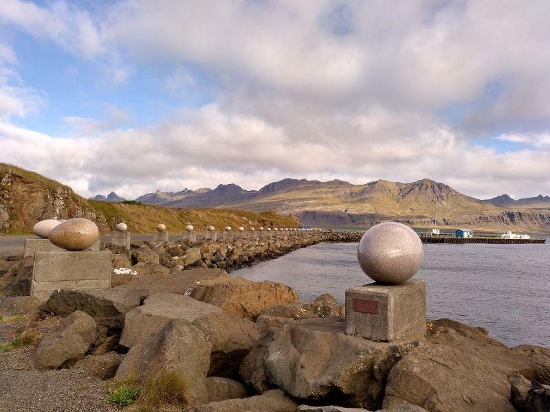 calle huevos djupivogur islandia