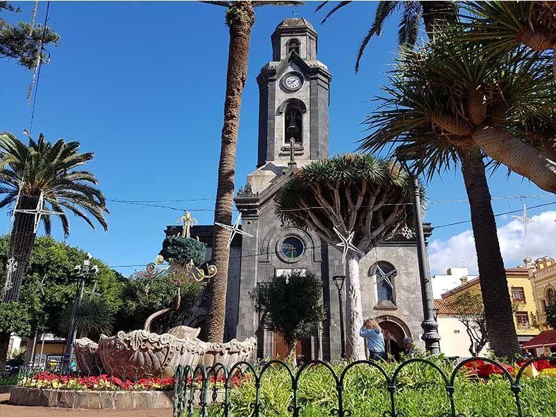 Iglesia de Nuestra Señora de la Peña de Francia, en Puerto de la Cruz