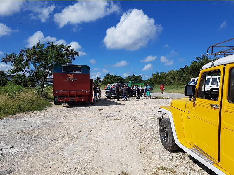 Colectivos en Cuba