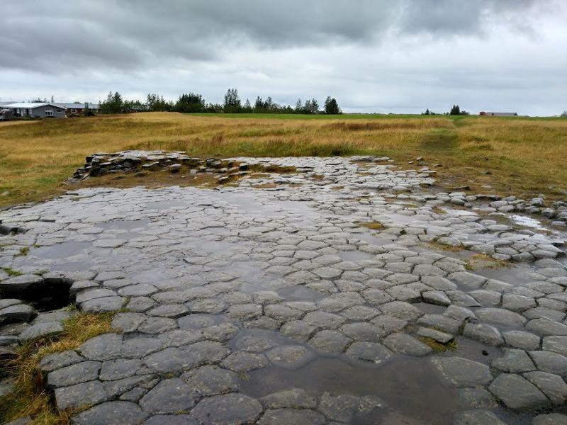 kirkjugolf suelo de iglesia islandia