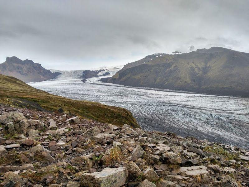 lengua glaciar skaftafellsjokull