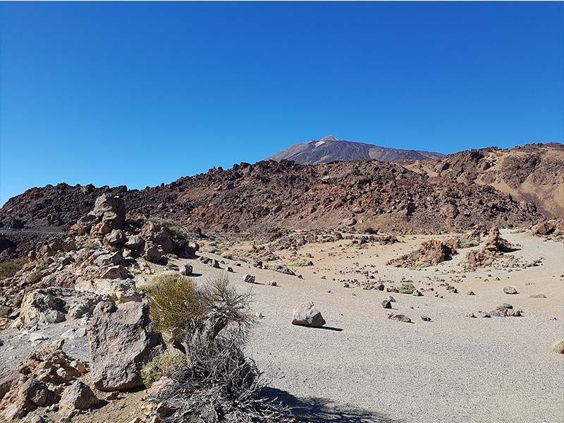 Minas de San José, en el Teide