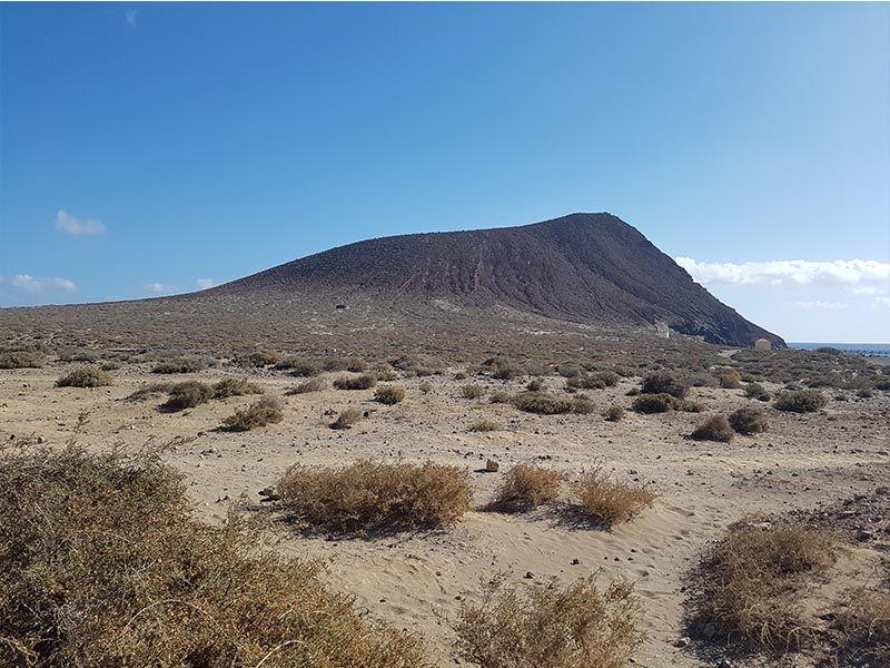 La montaña Roja de Tenerife