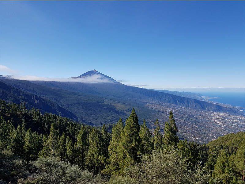 Parque Nacional del Teide, en el mirador de Chipeque