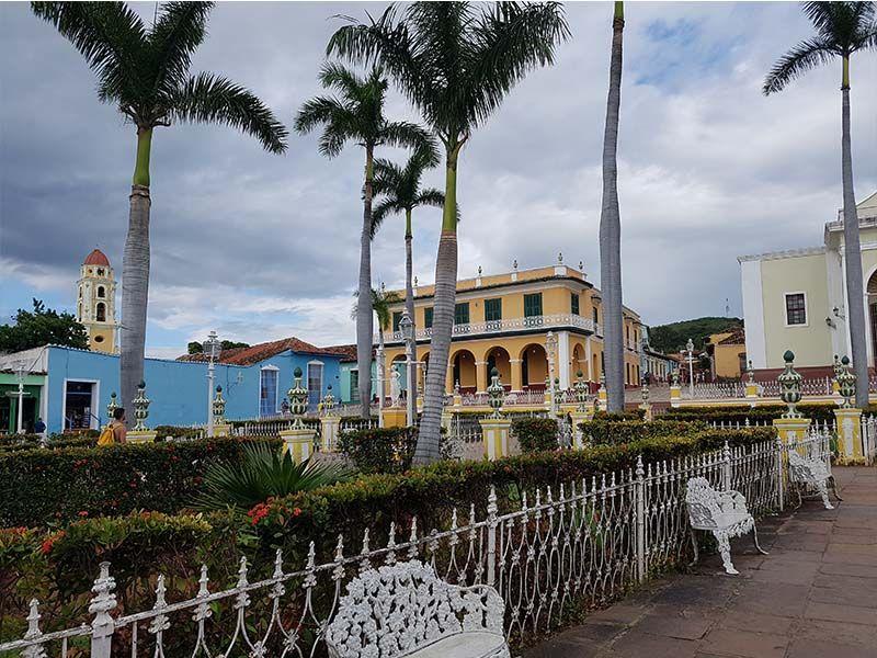 Plaza Mayor, el centro para visitar Trinidad en un día
