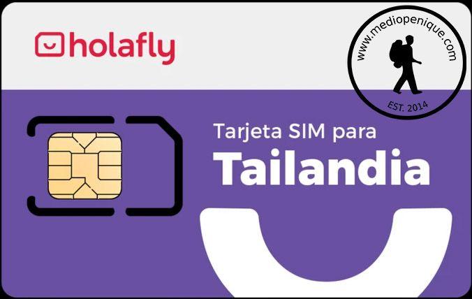 Tarjeta SIM de Holafly para Tailandia