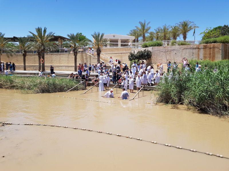 betania bautismo jesus
