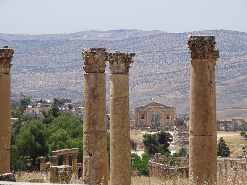 ruinas romanas de jerash