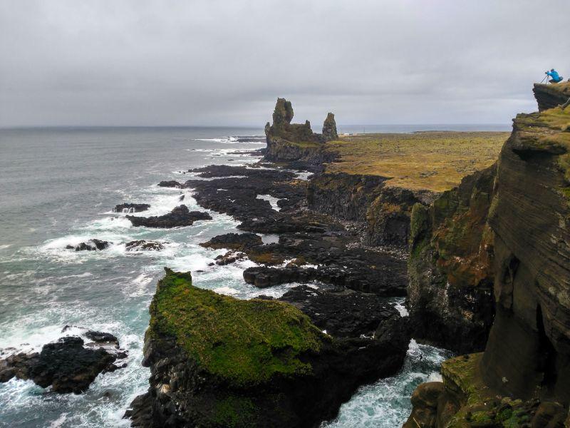 acantilados londrangar islandia