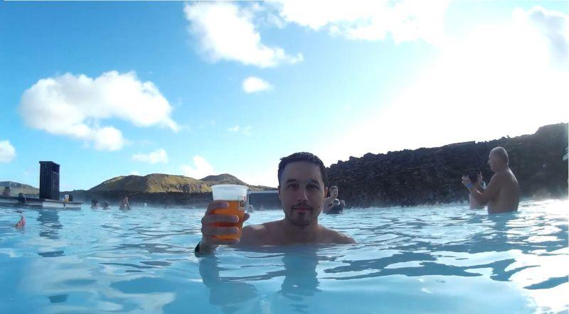 blue lagoon cerveza islandia