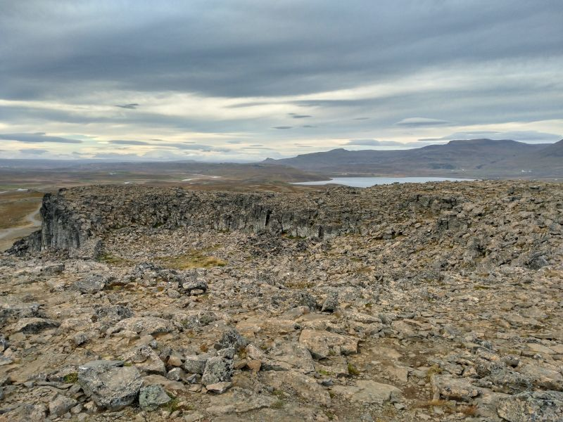 Borgarvirki islandia