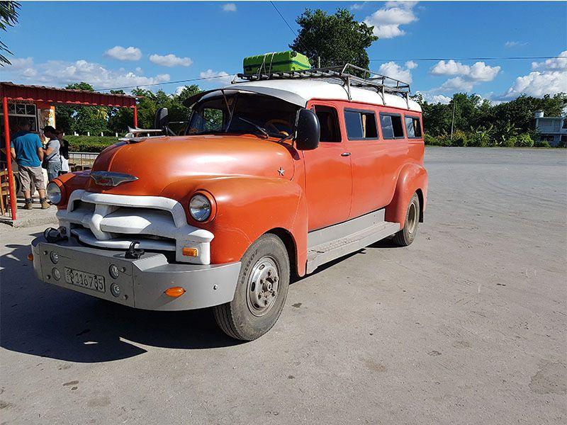 Colectivo de Camagüey a Santiago de Cuba